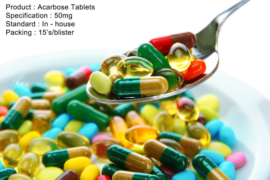 Acarbose Tablets 50mg Oral Medications
