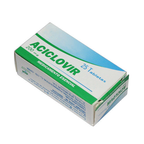 Oral Aciclovir Tablets 200mg / 400mg For Herpes Simplex Virus Infections