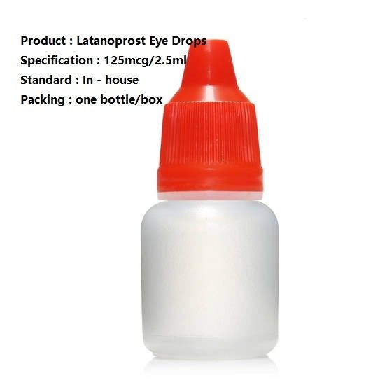 Latanoprost Ophthalmic Solution 125Mcg / 2.5Ml , Ophthalmic Latanoprost Medication
