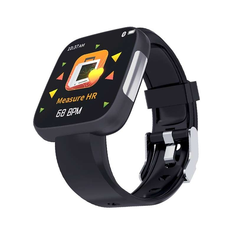 ECG Smart Watch Step Tracker Respiration Training Wristband 24 Hour Blood Pressure Monitor